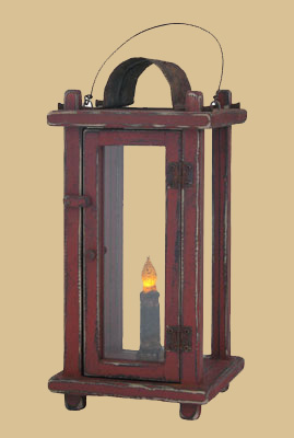 Footed Lantern